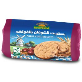Natureland Fruity Oat Biscuits 200g