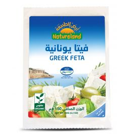 Natureland Greek Feta Cheese 150g
