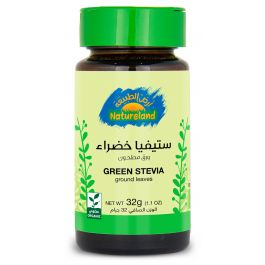 Natureland Green Stevia - Ground Leaves 32g