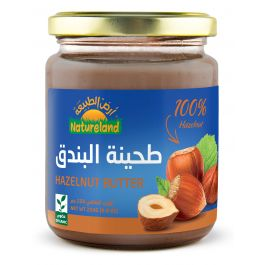 Natureland Hazelnut Butter 250g