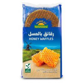 Natureland Honey Waffles 175g