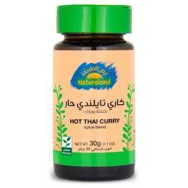 Natureland Hot Thai Curry - Spice Blend 30g