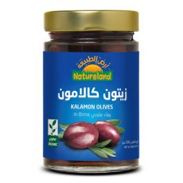 Natureland Kalamon Olives In Brine 300g