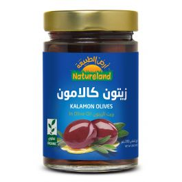 Natureland Kalamon Olives In Olive Oil 280g