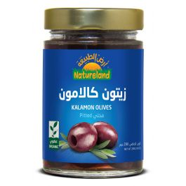 Natureland Kalamon Olives Pitted 280g