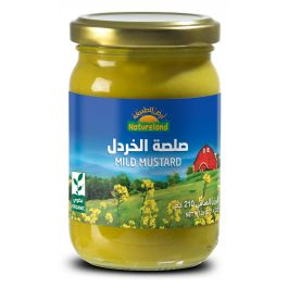 Natureland Mild Mustard 210g