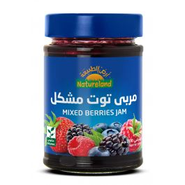 Natureland Mixed Berries Jam 200g