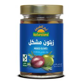 Natureland Mixed Olives In Brine 300g