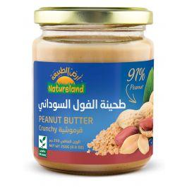 Natureland Crunchy Peanut Butter 250g