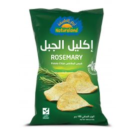 Natureland Potato Chips - Rosemary 100g