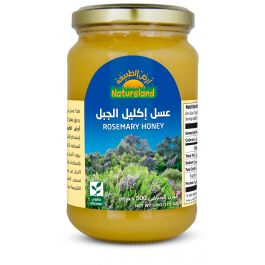 Natureland Rosemary Honey 500g