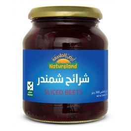 Natureland Sliced Beets 340g