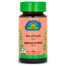 Natureland Smoked Paprika - Ground 40g