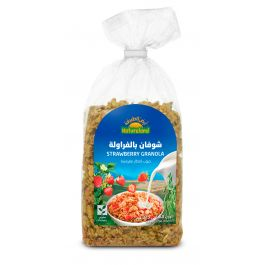 Natureland Strawberry Granola 375g