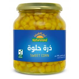 Natureland Sweet Corn 340g