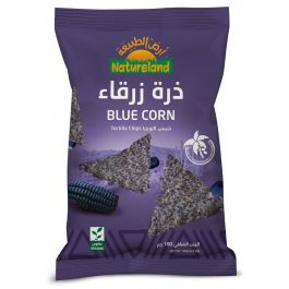 Natureland Tortilla Chips - Blue Corn 150g