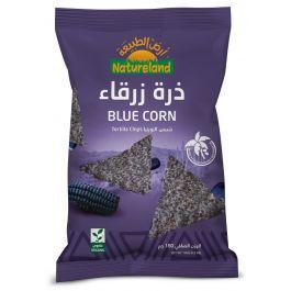 Natureland Tortilla Chips - Blue Corn 150g
