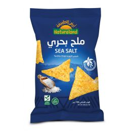 Natureland Tortilla Chips - Sea Salt 150g