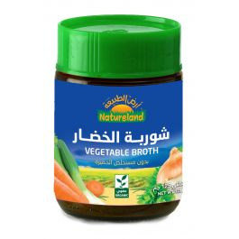 Natureland Vegetable Broth Without Yeast 125g