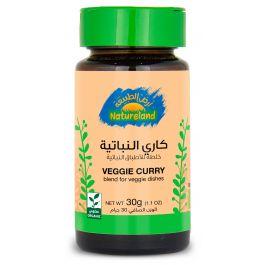 Natureland Veggie Curry - Spice Blend 30g