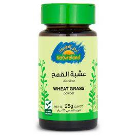 Natureland Wheat Grass - Powder 25g