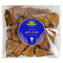 Natureland Whole Rye Zatar Chips 250g