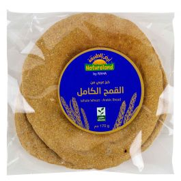 Natureland Whole Wheat Arabic Bread 170g