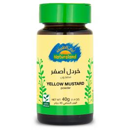 Natureland Yellow Mustard - Powder 40g