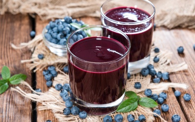Blueberry Super Juice for good health