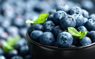 Organic blueberries only please