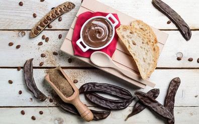 Carob as an alternative to chocolate