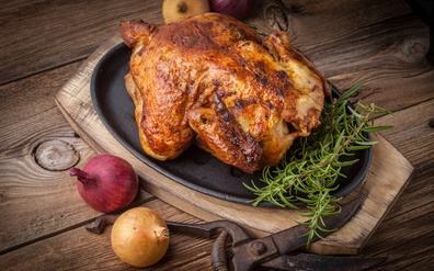 Organic chicken - perfectly tender, perfectly healthy