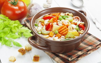 The relationship between cooked vegetables and their nutritional value